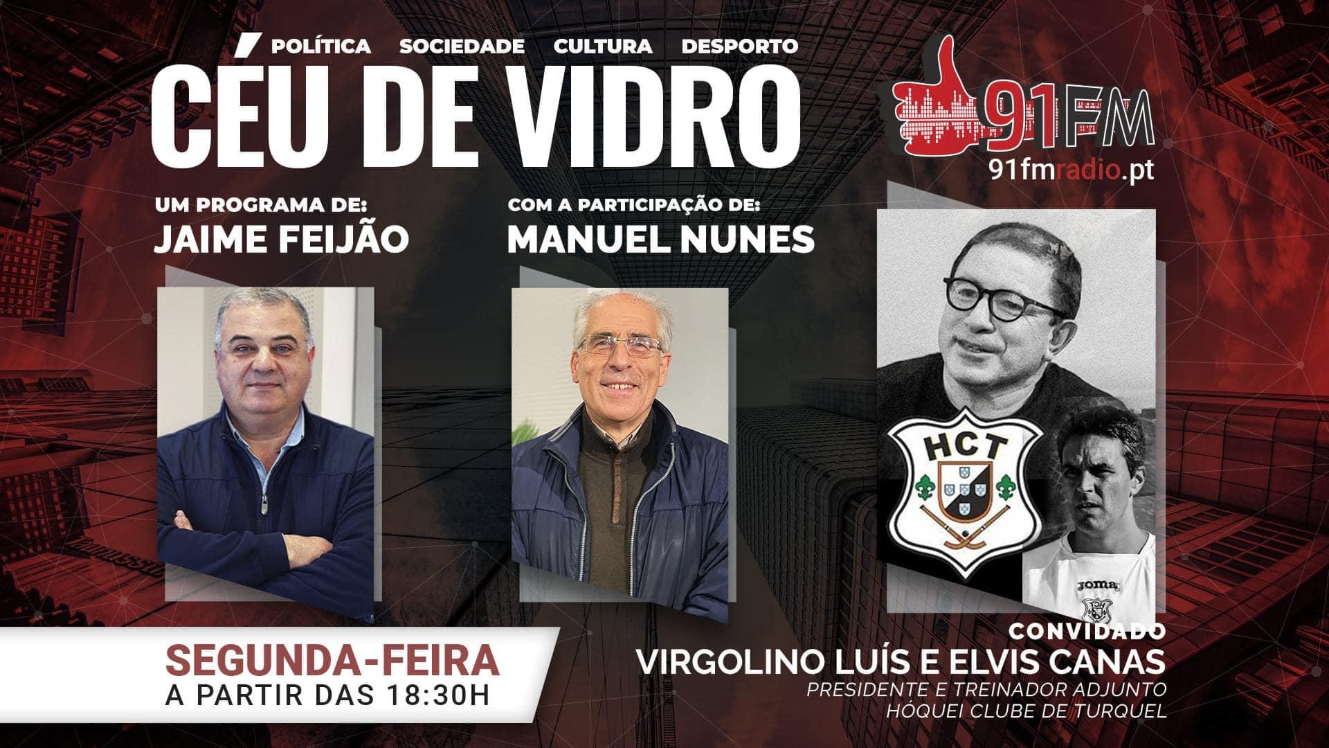 Céu de Vidro com Virgolino Luís e Elvis Canas